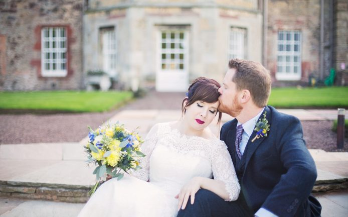 gilmerton-house-sweet-moment-bride-groom